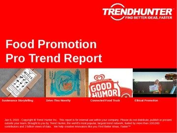 Food Promotion Trend Report and Food Promotion Market Research