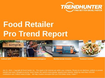 Food Retailer Trend Report and Food Retailer Market Research