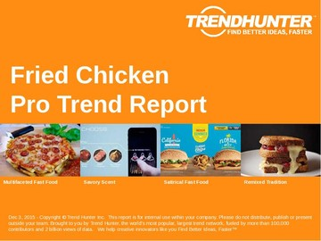 Fried Chicken Trend Report and Fried Chicken Market Research