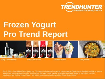 Frozen Yogurt Trend Report and Frozen Yogurt Market Research