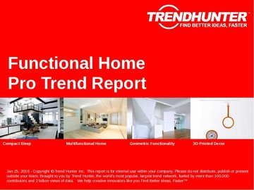 Functional Home Trend Report and Functional Home Market Research
