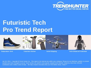 Futuristic Tech Trend Report and Futuristic Tech Market Research