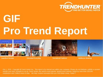 GIF Trend Report and GIF Market Research