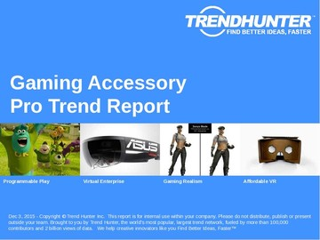 Gaming Accessory Trend Report and Gaming Accessory Market Research