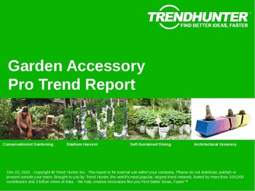 Garden Accessory Trend Report and Garden Accessory Market Research