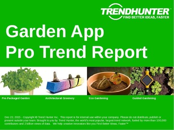 Garden App Trend Report and Garden App Market Research