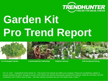 Garden Kit Trend Report and Garden Kit Market Research