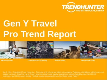 Gen Y Travel Trend Report and Gen Y Travel Market Research