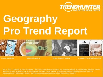 Geography Trend Report and Geography Market Research