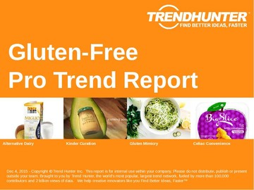 Gluten-Free Trend Report and Gluten-Free Market Research