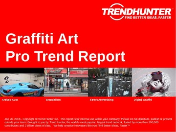 Graffiti Art Trend Report and Graffiti Art Market Research