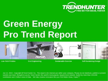 Green Energy Trend Report and Green Energy Market Research