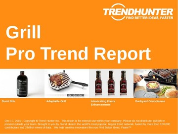 Grill Trend Report and Grill Market Research