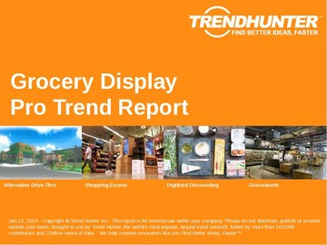 Grocery Display Trend Report and Grocery Display Market Research