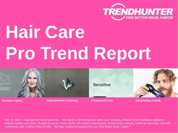 Hair Care Trend Report and Hair Care Market Research