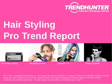 Hair Styling Trend Report and Hair Styling Market Research