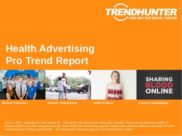 Health Advertising Trend Report and Health Advertising Market Research
