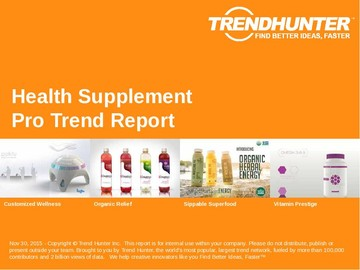 Health Supplement Trend Report and Health Supplement Market Research