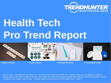 Health Tech Trend Report and Health Tech Market Research