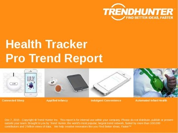 Health Tracker Trend Report and Health Tracker Market Research