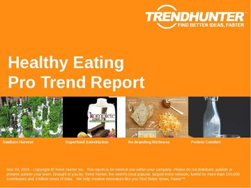 Healthy Eating Trend Report and Healthy Eating Market Research