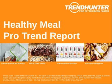 Healthy Meal Trend Report and Healthy Meal Market Research