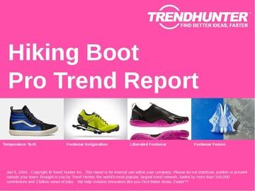 Hiking Boot Trend Report and Hiking Boot Market Research