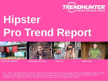Hipster Trend Report and Hipster Market Research
