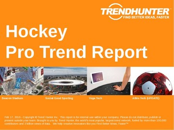 Hockey Trend Report and Hockey Market Research