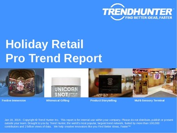 Holiday Retail Trend Report and Holiday Retail Market Research