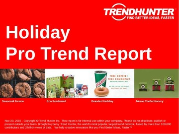 Holiday Trend Report and Holiday Market Research