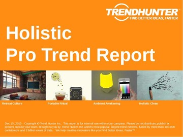 Holistic Trend Report and Holistic Market Research