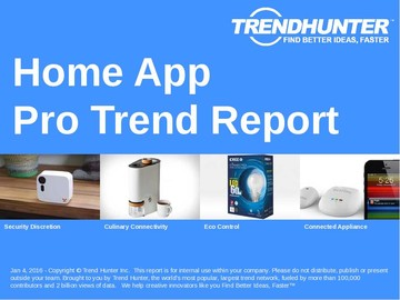Home App Trend Report and Home App Market Research
