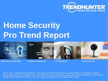 Home Security Trend Report and Home Security Market Research