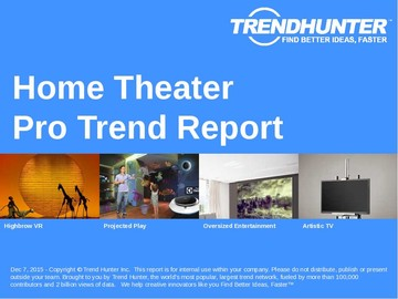 Home Theater Trend Report and Home Theater Market Research