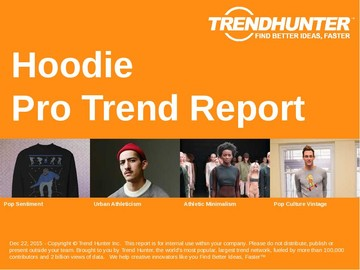 Hoodie Trend Report and Hoodie Market Research