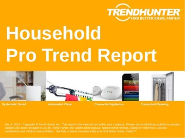 Household Trend Report and Household Market Research