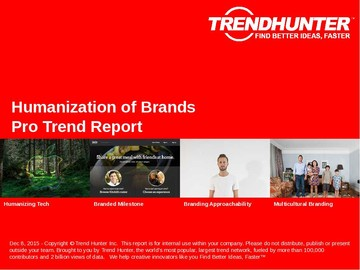 Humanization of Brands Trend Report and Humanization of Brands Market Research