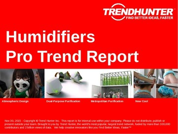 Humidifiers Trend Report and Humidifiers Market Research