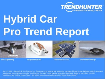 Hybrid Car Trend Report and Hybrid Car Market Research