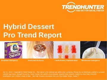 Hybrid Dessert Trend Report and Hybrid Dessert Market Research