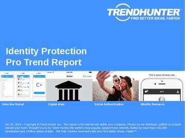 Identity Protection Trend Report and Identity Protection Market Research