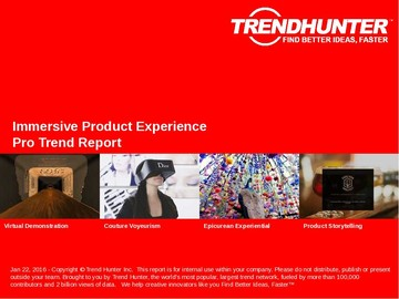 Immersive Product Experience Trend Report and Immersive Product Experience Market Research