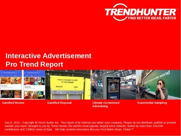 Interactive Advertisement Trend Report and Interactive Advertisement Market Research
