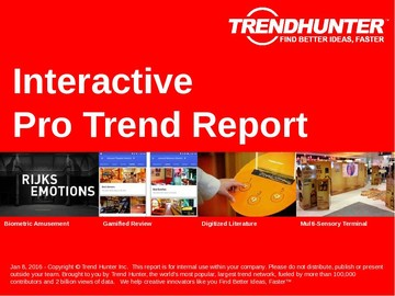 Interactive Trend Report and Interactive Market Research