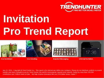 Invitation Trend Report and Invitation Market Research
