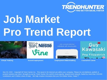 Job Market Trend Report and Job Market Market Research