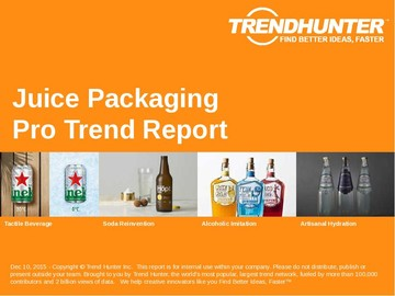 Juice Packaging Trend Report and Juice Packaging Market Research