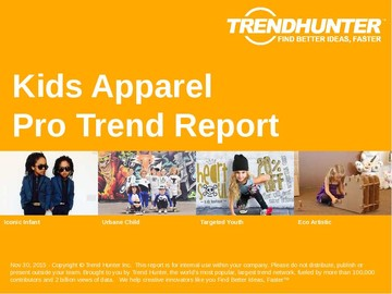 Kids Apparel Trend Report and Kids Apparel Market Research