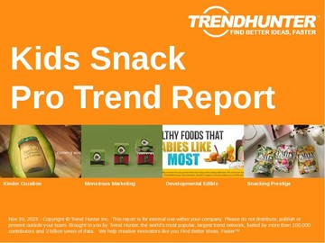 Kids Snack Trend Report and Kids Snack Market Research